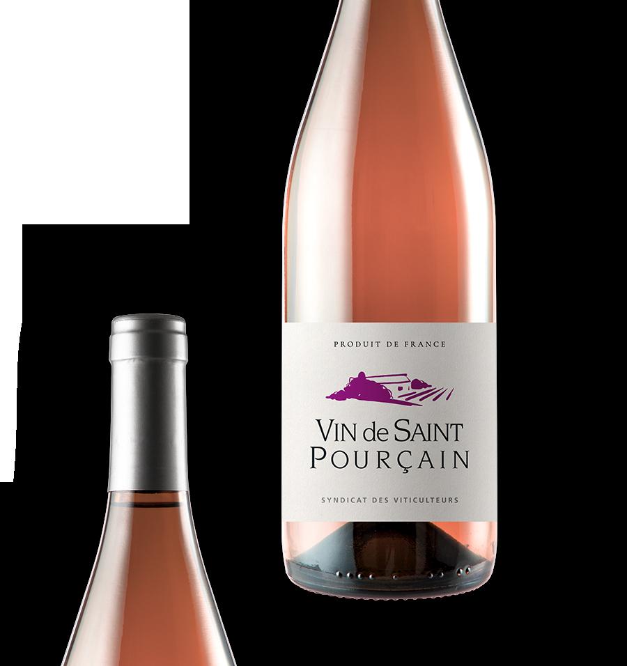 Vins de Saint-Pourçain | Vin rosé